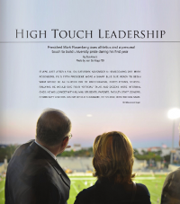 high touch leadership